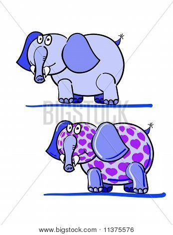Elephants And Hearts