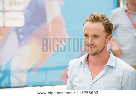 Actor Tom Felton