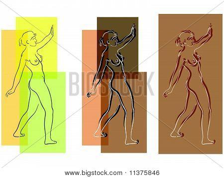 nudes composition