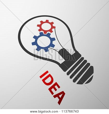 Light Bulb. Stock Illustration.