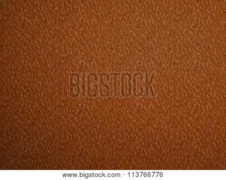 Beige Leather. Stock Illustration.