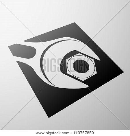 Emblem Of Construction.