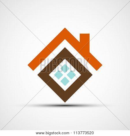 Real Estate. Stock Illustration.