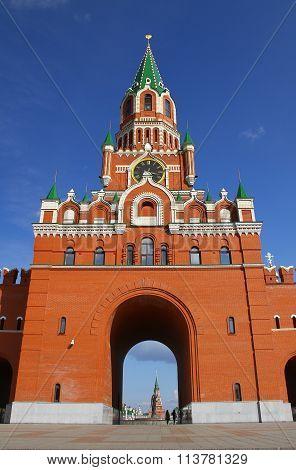 Annunciation Tower in Yoshkar-Ola. Russia