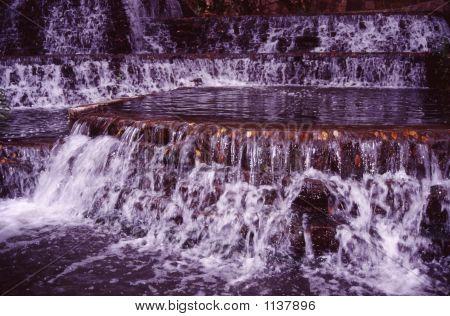 Waterfall  River Walk San Antonio Tx