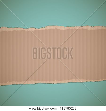 Cardboard. Stock Illustration.