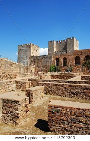 Castrense District, Palace of Alhambra.