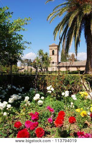 Alhambra Palace Parador and gardens, Granada.