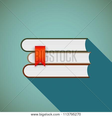 Books. Stock Illustration.