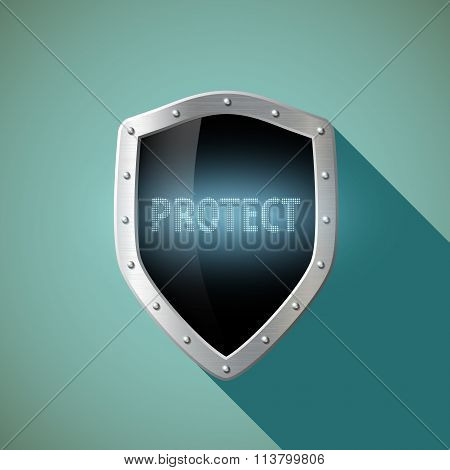 Protect. Stock Illustration.