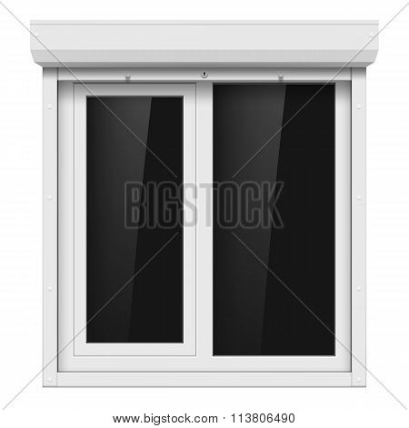 Shutters And Plastic Window
