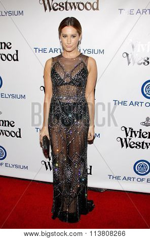 Sasha Alexander at the Art Of Elysium's 9th Annual Heaven Gala held at the 3LABS in Culver City, USA on January 9, 2016.