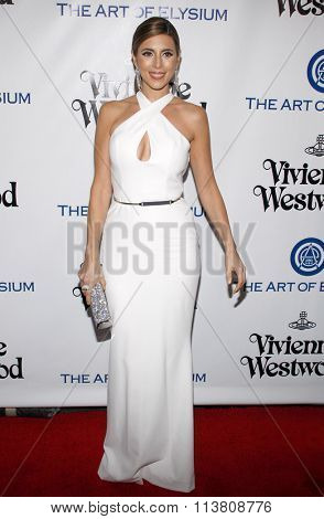 Jamie-Lynn Sigler at the Art Of Elysium's 9th Annual Heaven Gala held at the 3LABS in Culver City, USA on January 9, 2016.