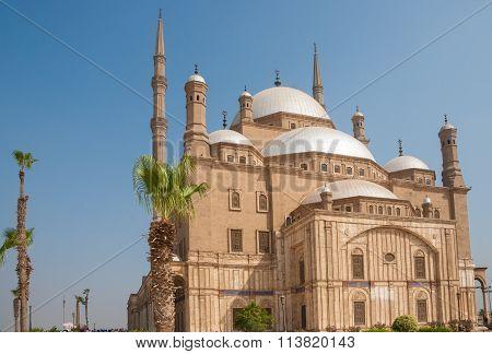 Mohammed Ali Or Alabaster Mosque,  Saladin Citadel, Cairo, Egypt