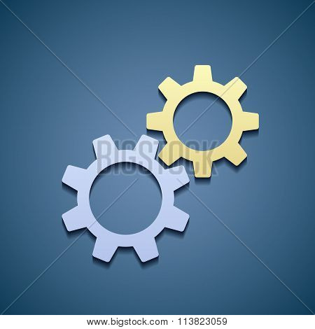 Icon Of Gears.