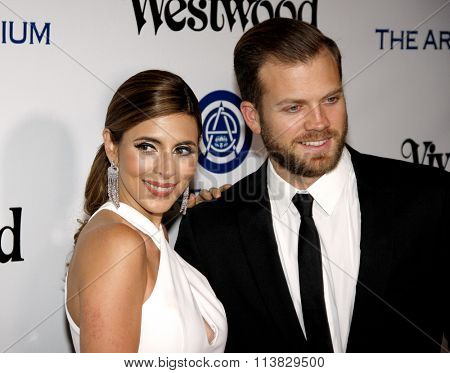 Cutter Dykstra and Jamie-Lynn Sigler at the Art Of Elysium's 9th Annual Heaven Gala held at the 3LABS in Culver City, USA on January 9, 2016.