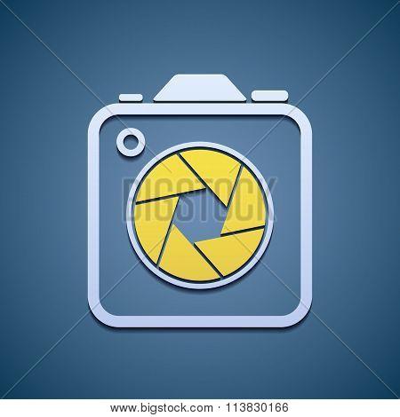 Icon Aperture Camera.