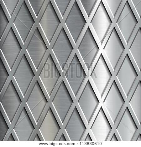Steel Geometrical Background