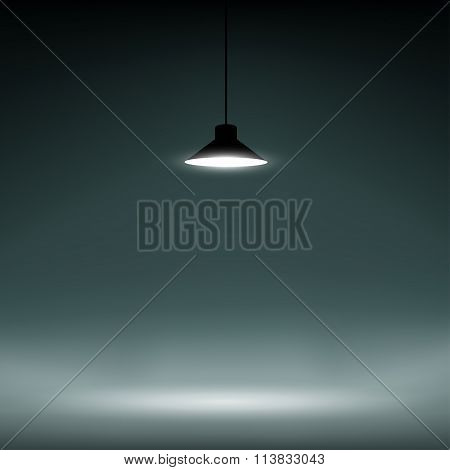 Background Illuminated Lamp