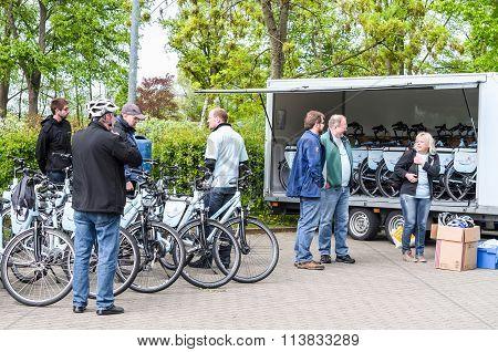 Bicycle Tour With Artificial Heart Patients Of Elisabeth-krankenhaus