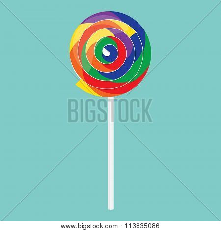 Candy Lollipop Icon
