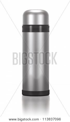 Stainless Steel Thermos For Drinks.