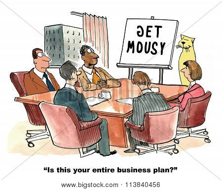 Two Word Business Plan