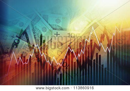 Polish Zloty Trading Concept