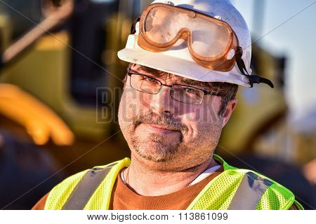 Sarcastic Construction Worker