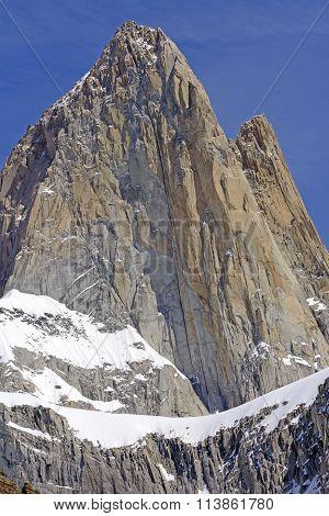 Bare Rock Pinnacle In The Sky