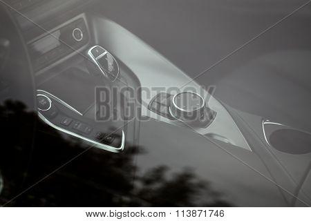 Car Buttons Detail