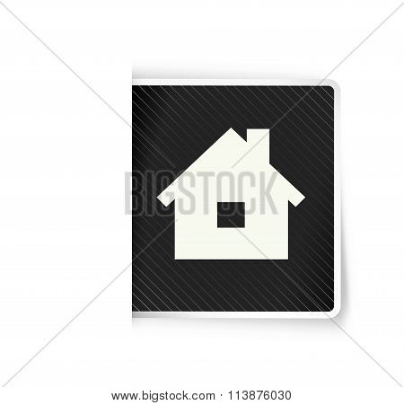 The Tag With Home Icon