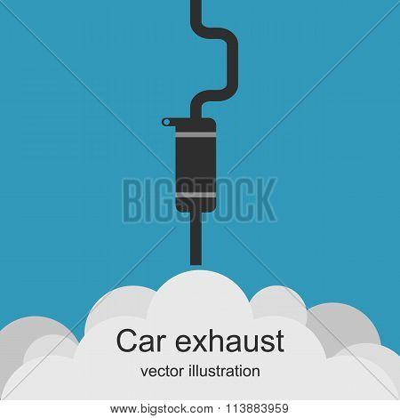 Exhaust Car