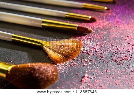 Sets Makeup Brush For Professional Makeup Artist