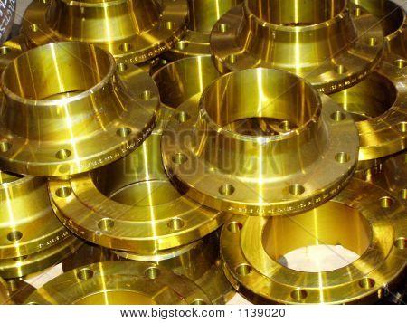 Gold Flanges 12506C
