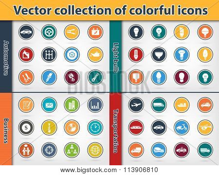 Colorful Icon Collection (vector Eps10)