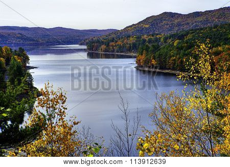 Autumn at Sacandaga Reservoir, New York