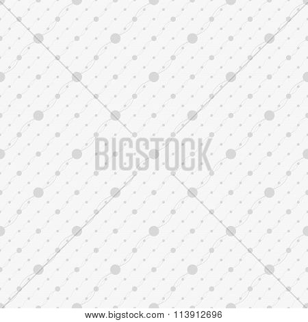 Seamless  pattern with points