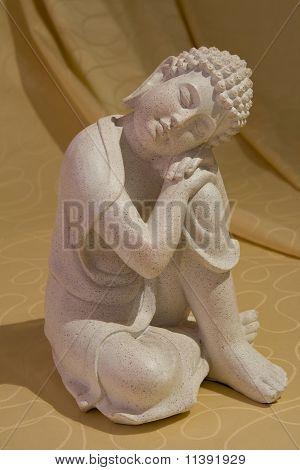 Stone figure of Buddha
