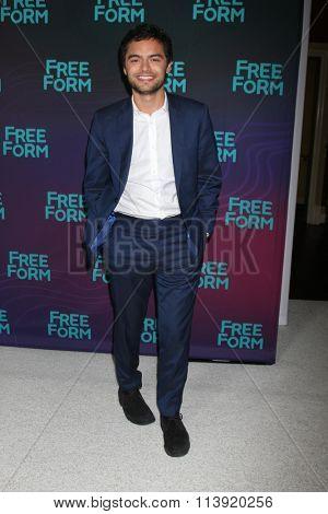 LOS ANGELES - JAN 9:  Sebastian de Souza at the Disney ABC TV 2016 TCA Party at the The Langham Huntington Hotel on January 9, 2016 in Pasadena, CA