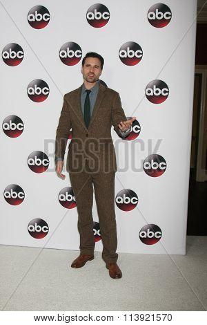 LOS ANGELES - JAN 9:  Brett Dalton at the Disney ABC TV 2016 TCA Party at the The Langham Huntington Hotel on January 9, 2016 in Pasadena, CA
