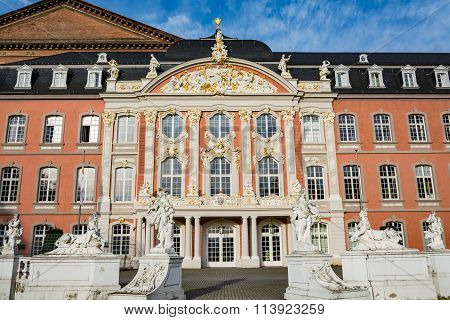 Electoral Palace in Trier in autumn, Germany