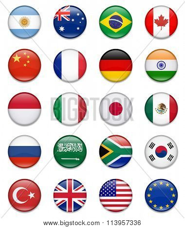 G20 Flag Collection-Complete