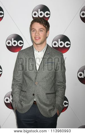 LOS ANGELES - JAN 9:  Connor Jessup at the Disney ABC TV 2016 TCA Party at the The Langham Huntington Hotel on January 9, 2016 in Pasadena, CA