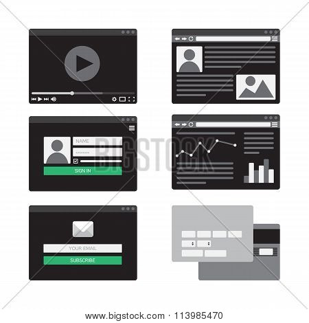 Web Template Form