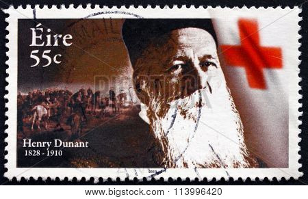 Postage Stamp Ireland 2010 Henry Dunant