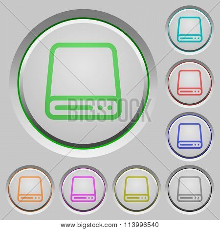 Hard Disk Push Buttons
