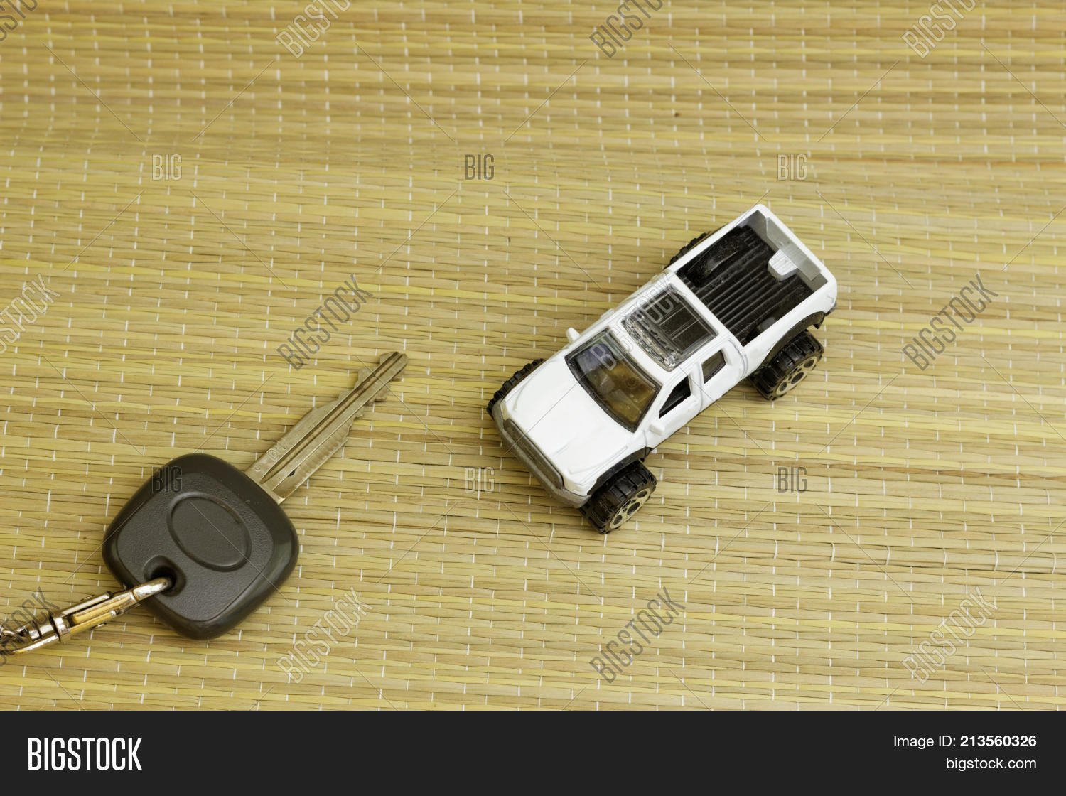 Car Key Mini White Image Photo Free Trial Bigstock