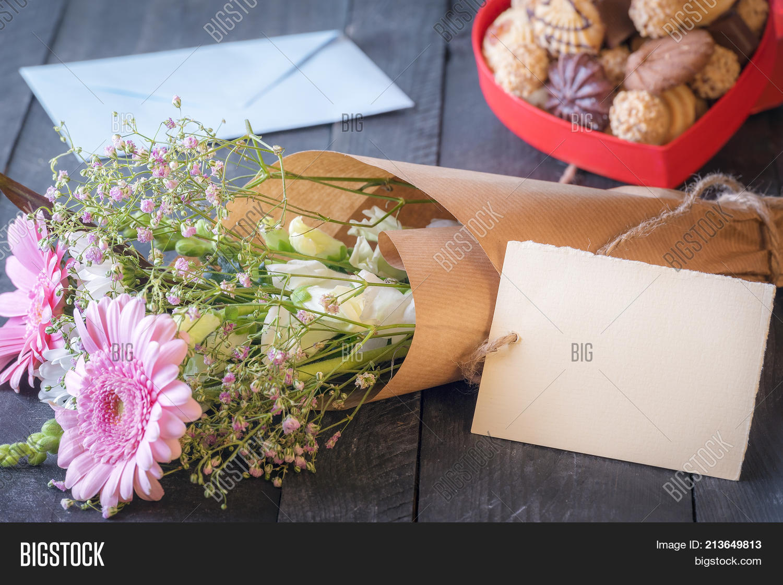 Flower Bouquet Blank Image Photo Free Trial Bigstock