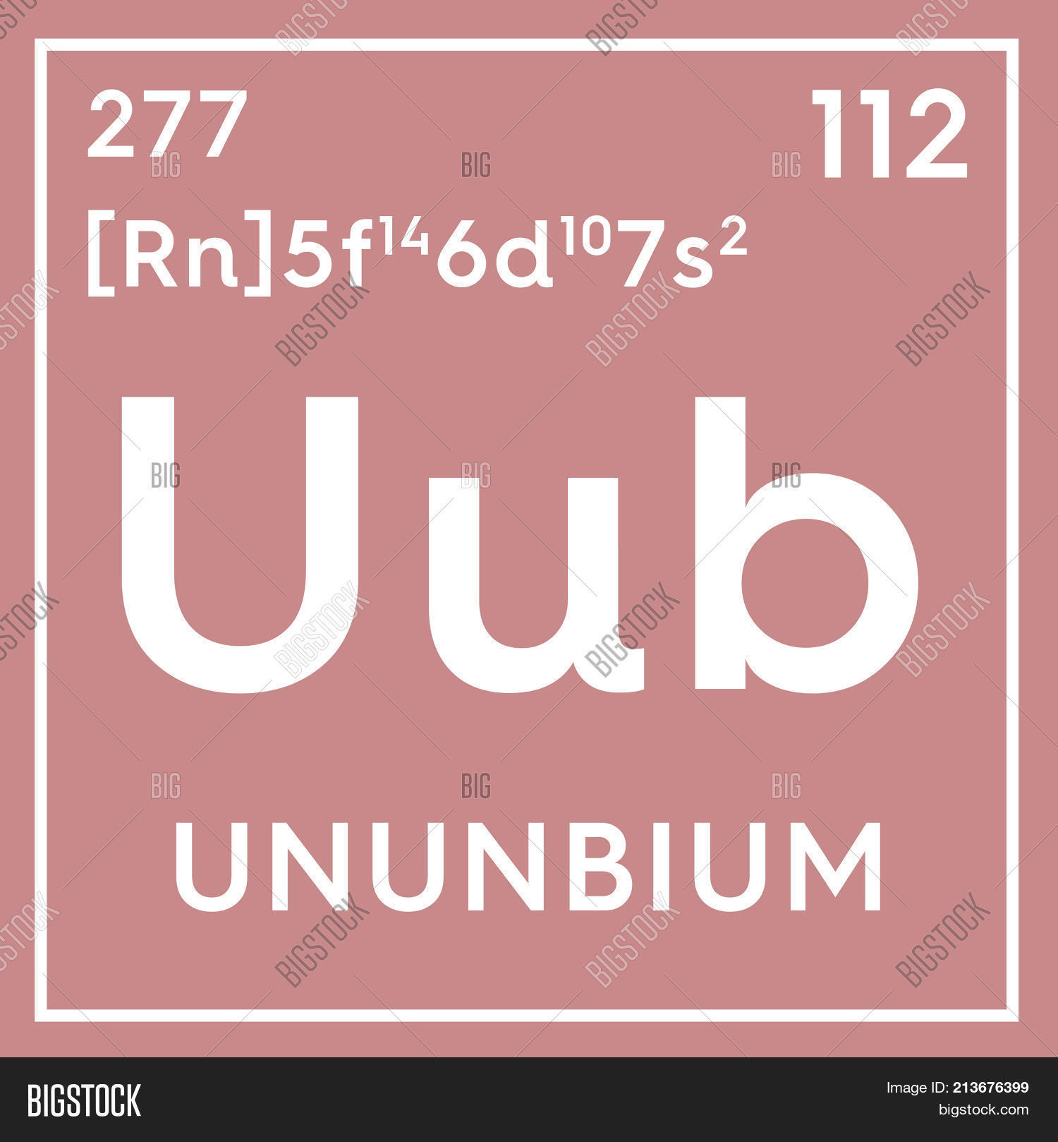Ununbium transition image photo free trial bigstock chemical element of mendeleevs periodic table 3d illustration urtaz Gallery